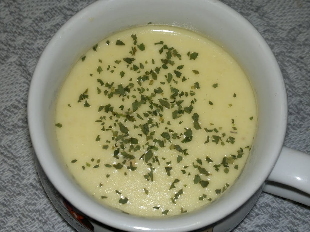 Creme de Mandioquinha (Batata-baroa)
