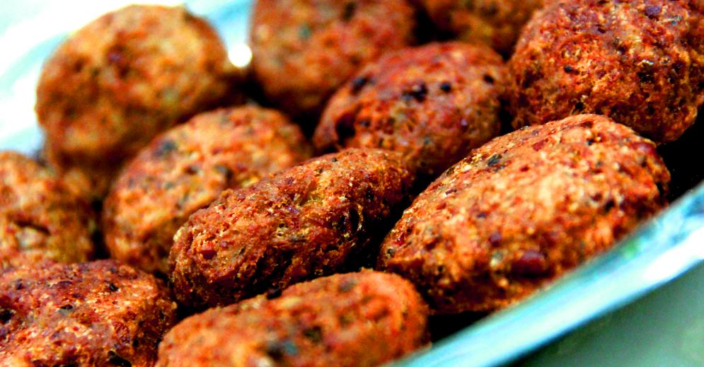 Falafel | Bolinhos de Grão-de-Bico