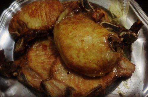 Bisteca frita e macia