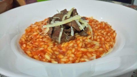 Risoto Pomodoro com Grana Padano